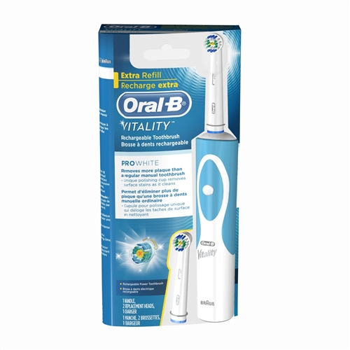 oral b vitality electric toothbrush. Black Bedroom Furniture Sets. Home Design Ideas