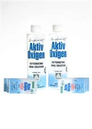 AktivOxigen 12 Tablets and two bottles