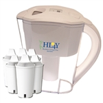 Alkaline Water Pitcher With 6 Filters