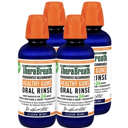 Healthy Gums Rinse 4 Pack