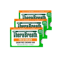 Therabreath Gum 3 Pack