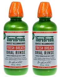 Dr Katz Therabreath Oral Rinse 16 Ounce Bottles Pack Of 2